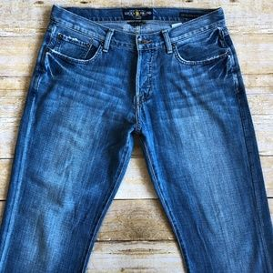 Lucky Brand 221 Original Straight Jeans Sz 33 x 30